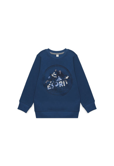 Esprit Bluza sport cu imprimeu logo Baieti
