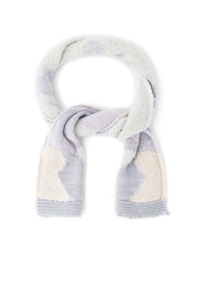 United Colors of Benetton Fular din amestec de lana cu insertii stralucitoare Fete