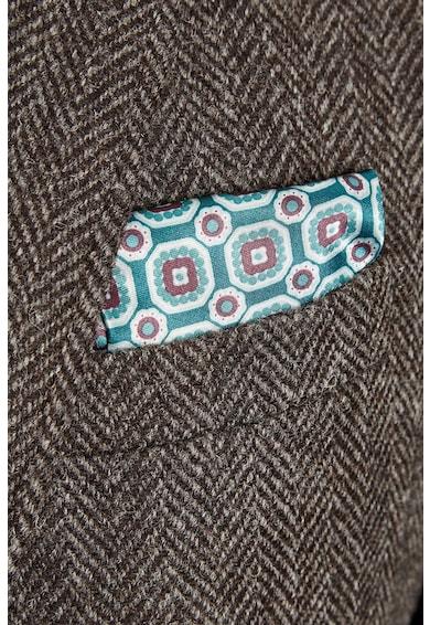 NEXT Sacou slim fit elegant dee lana cu model herringbone Barbati