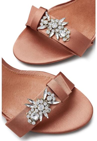 NEXT Sandale din satin cu bareta pe glezna si strasuri Femei