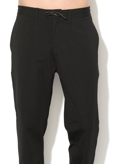 GUESS JEANS Pantaloni jogger cu talie cu snur Barbati