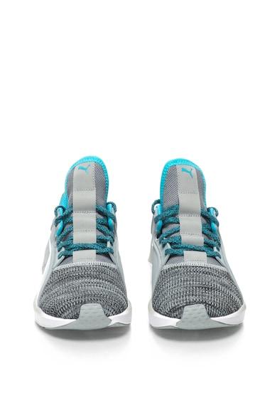 Puma Pantofi sport din tricot cu sireturi pentru fitness Fierce Femei