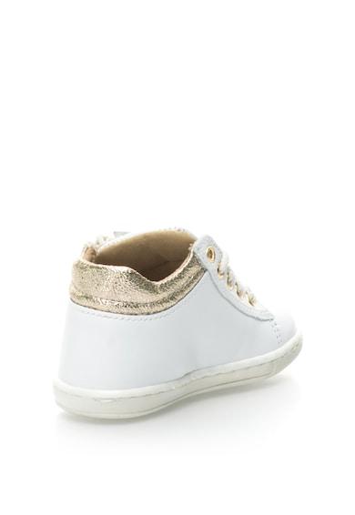 Zee Lane Pantofi sport de piele cu garnituri metalice Fete