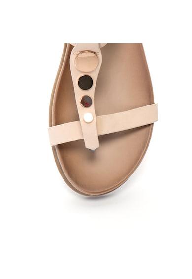Release Дамски сандали  Кръгли метални аксесоари, Еко кожа Жени