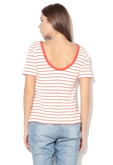Levi's Раирана тениска с изрязан гръб Жени