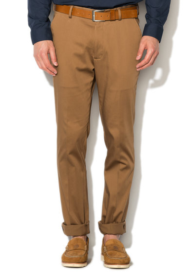 NEW LOOK Pantaloni slim fit maro camel Barbati