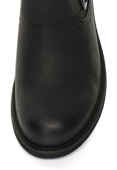 Bullboxer Cizme scurte negre de piele fara inchidere Femei