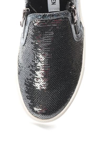 Steve Madden Pantofi slip-on argintii cu paiete Paddock Femei