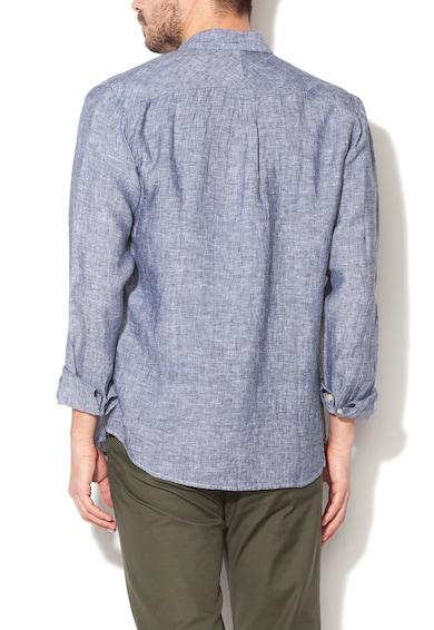 Selected Homme Ленена риза в син меланж Мъже
