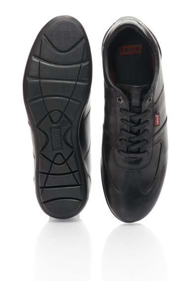 Levi's Pantofi casual negri din piele Barbati