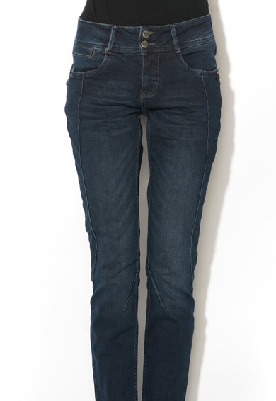 Denim Hunter Jeansi albastru inchis curved fit Ronald Femei