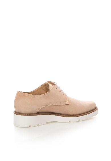 Esprit Pantofi roz pal de piele intoarsa Josette Femei