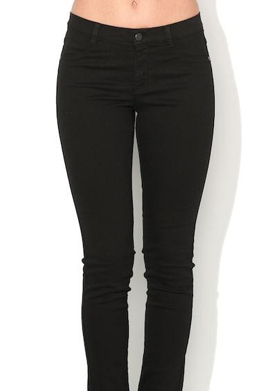 Sisley Jeansi super skinny negri Femei