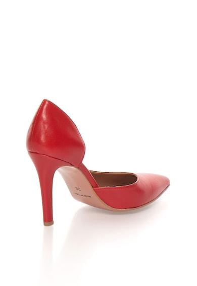 Zee Lane Pantofi d'Orsay rosii de piele Anne Femei