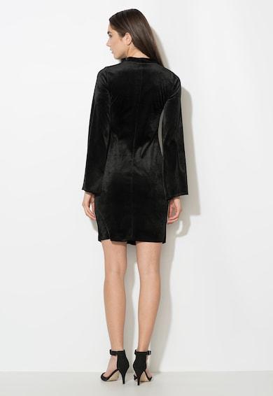 Zee Lane Collection Rochie neagra catifelata Femei