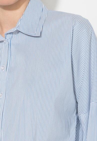 Zee Lane Denim Camasa alb cu albastru in dungi Femei