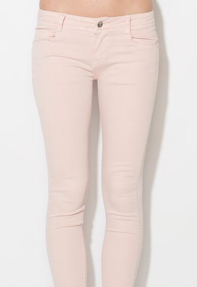 Zee Lane Denim Pantaloni conici roz pa Femei