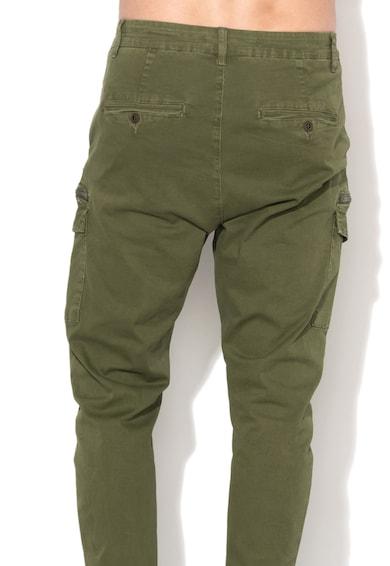 Zee Lane Denim Pantaloni cargo verde oliv Barbati