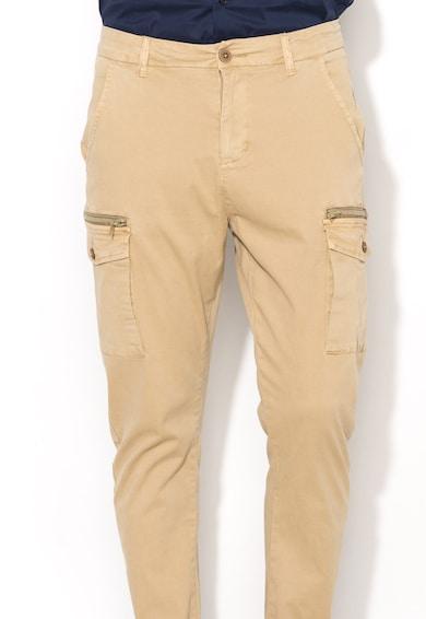 Zee Lane Denim Pantaloni cargo bej Barbati