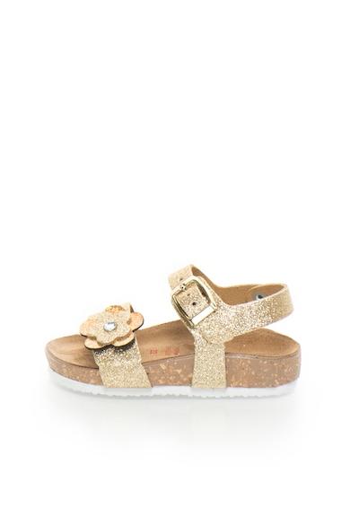 Zee Lane Sandale aurii stralucitoare de piele Fete