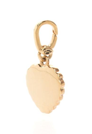 Juicy Couture Pandantiv auriu in forma de inima cu strasuri Femei