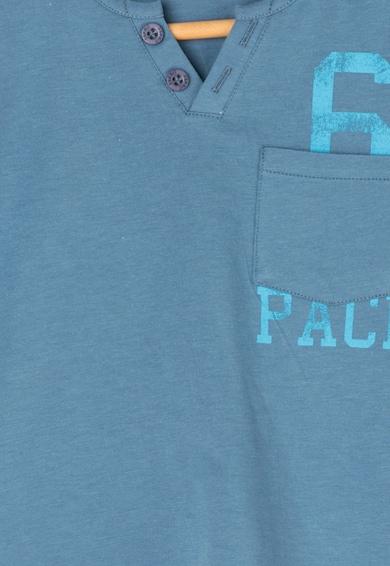 Esprit Tricou albastru prafuit cu imprimeu text Baieti