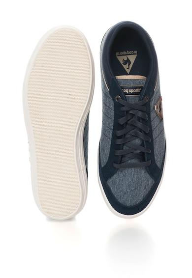 Le Coq Sportif Pantofi sport albastri cu aspect de denim Feretcraft Barbati