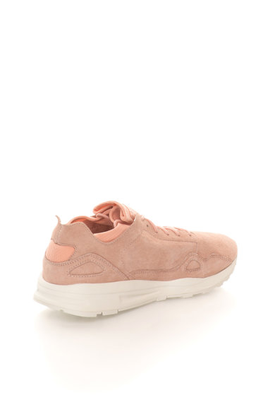 Le Coq Sportif Tenisi roz prafuit de piele nabuc Flow Femei