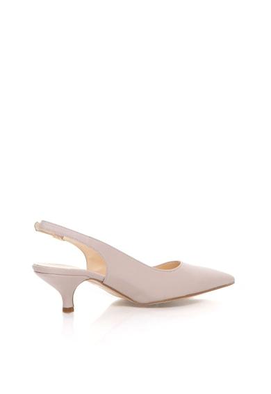 Zee Lane Pantofi slingback bej de piele Femei