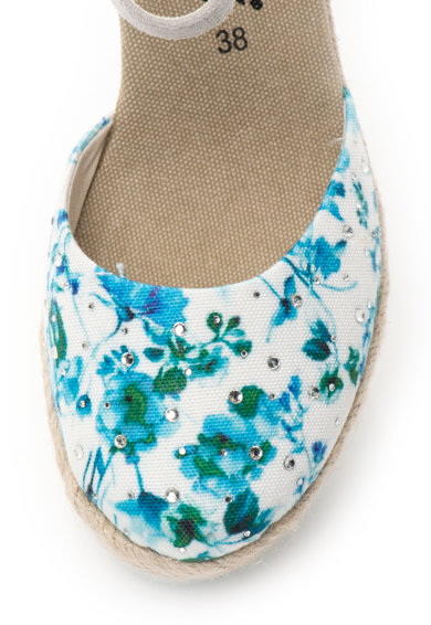 Fiorucci Sandale wedge tip espadrile Femei