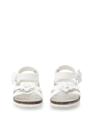 Zee Lane Sandale albe de piele Ariel Fete