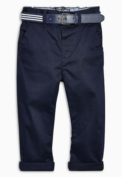 NEXT Pantaloni chino bleumarin slim fit Baieti