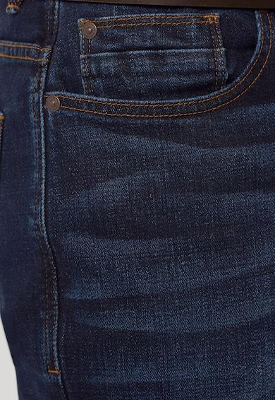 NEXT Blugi albastru inchis cu o curea maro Barbati