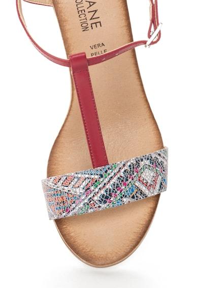 Zee Lane Collection Sandale multicolore cu bareta in forma de T Femei