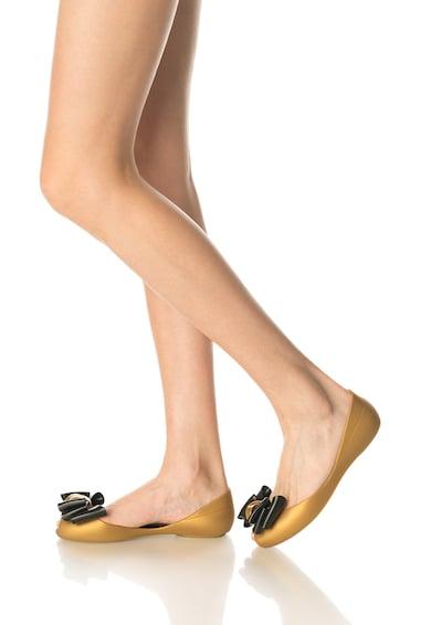 Colors of California Balerini cauciucati maro bronz cu funda Femei