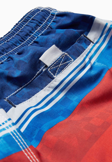 NEXT Pantaloni scurti de baie albastru cu rosu in dungi Baieti