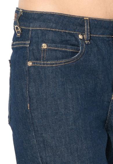 Max&Co Jeansi crop slim fit albastru inchis Darsena Femei