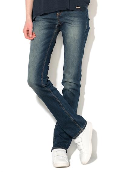 GUESS JEANS Jeansi albastru inchis slim fit Femei
