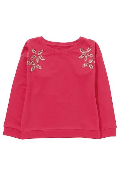 NEXT Bluza sport cu aplicatii florale Fete