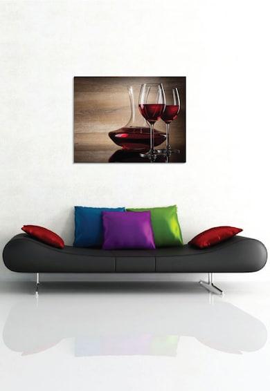 4Decor Tablou de panza Wine Glass Femei