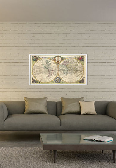 4Decor Tablou de panza Global Map Femei
