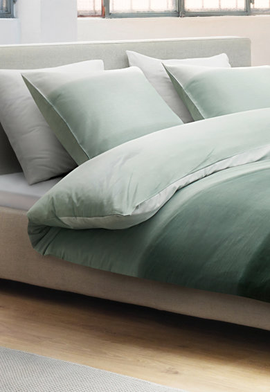 Marc O'Polo Set de pat monocrom Elva, Gri Femei