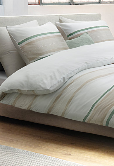 Marc O'Polo Set de pat cu model in dungi Etta, Multicolor Femei