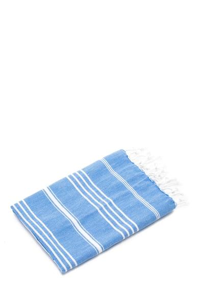Leunelle Set de halat de baie si prosop bleu Sultan Femei