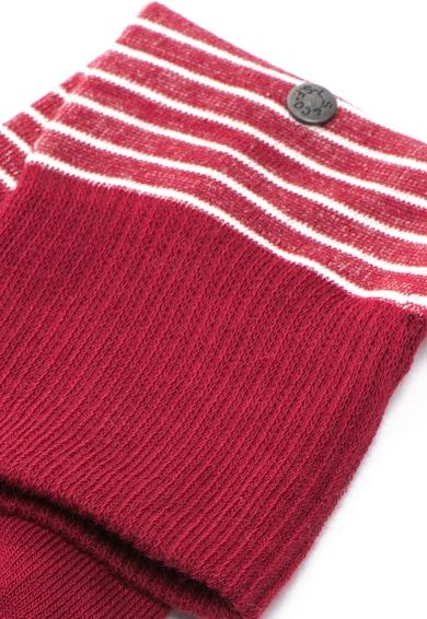 Levi's Set de sosete rosii cu dungi 168SF - 2 perechi Femei