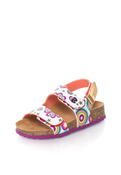 DESIGUAL Sandale multicolore cu imprimeu abstract Baieti