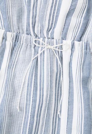 Mango Rochie albastru cu alb in dungi Bari Fete