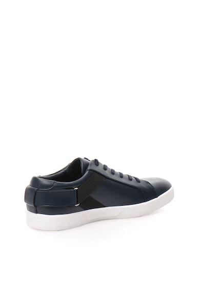 Calvin Klein Pantofi sport bleumarin de piele Italo Barbati