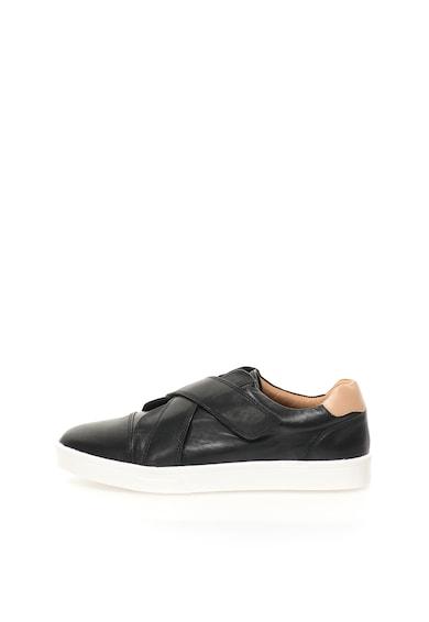 Calvin Klein Pantofi casual negri de piele Issie Femei
