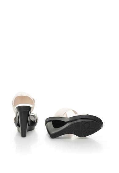 Calvin Klein Sandale alb prafuit cu platforma Yelena Femei